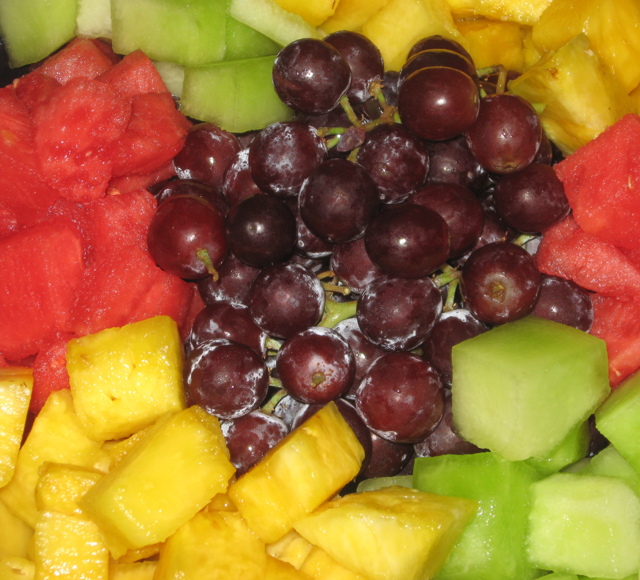 Cubed Fruit