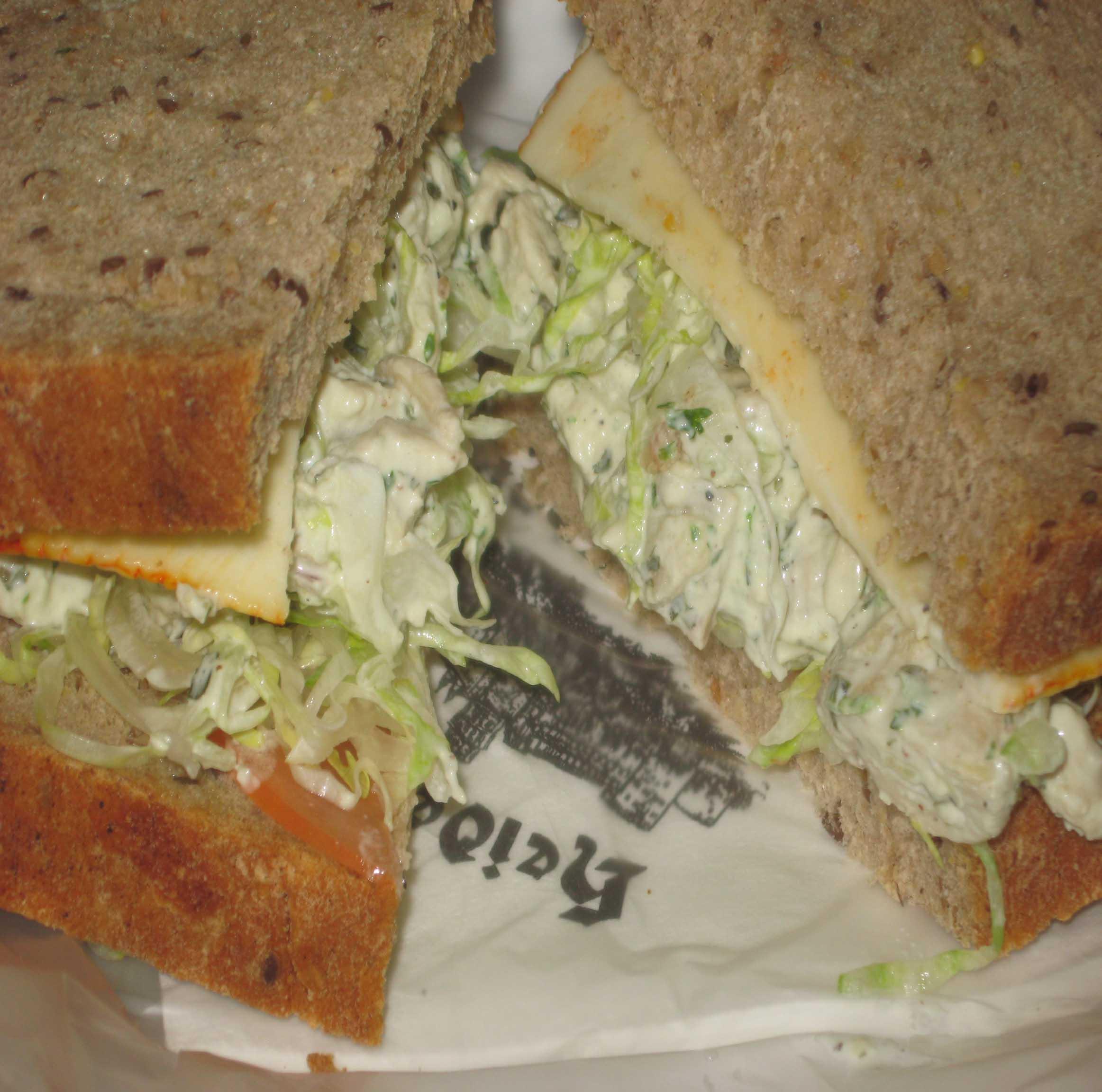 Chicken Tarragon Sandwich