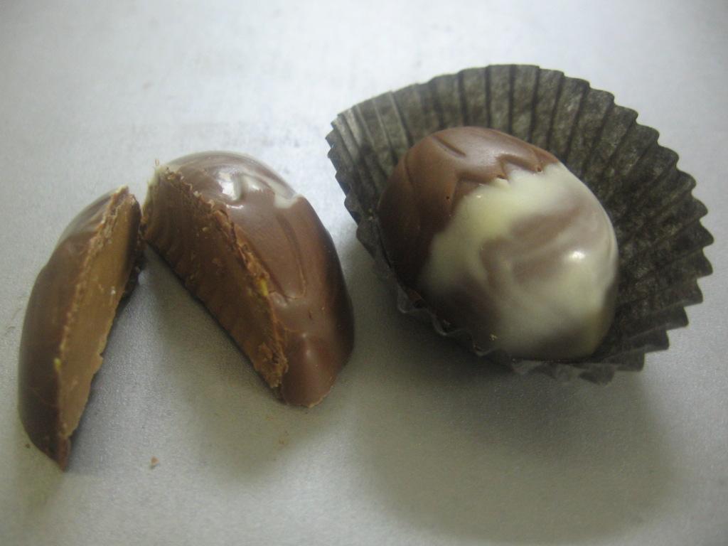 Milk Chocolate Filled with Hazelnut Nougat Cream