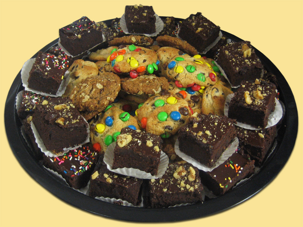 Assortment of Brownies and Cookies