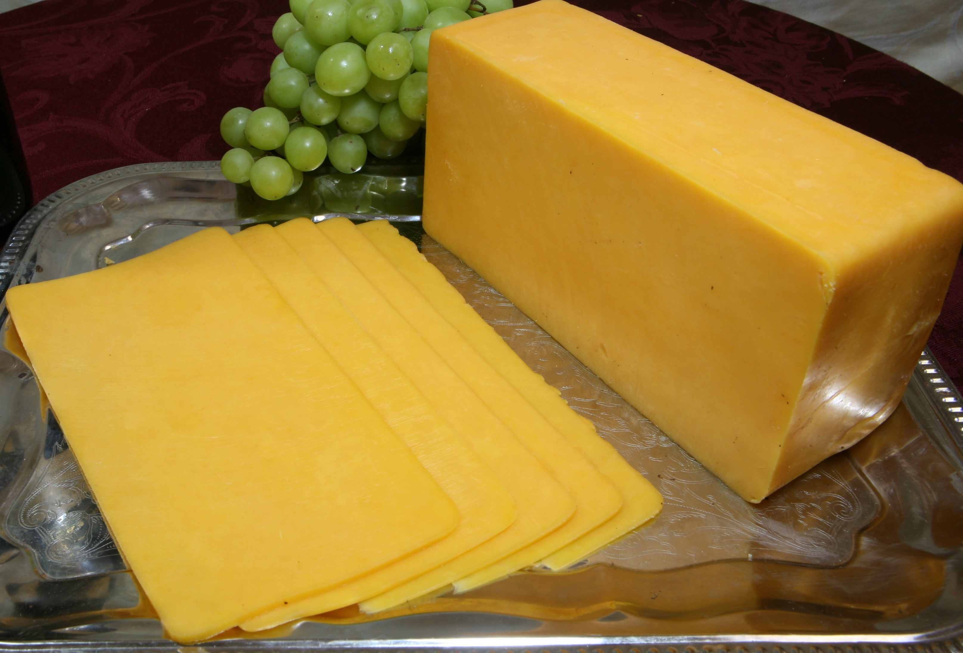 Cheddar – yellow