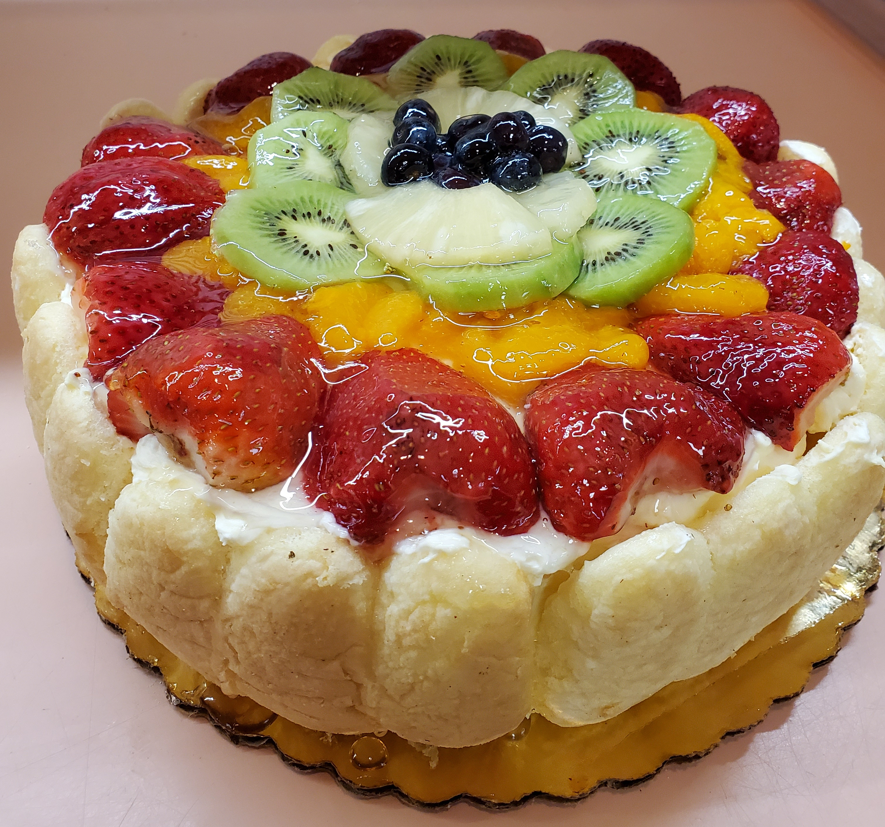 Cheesecake with Fruit Topping