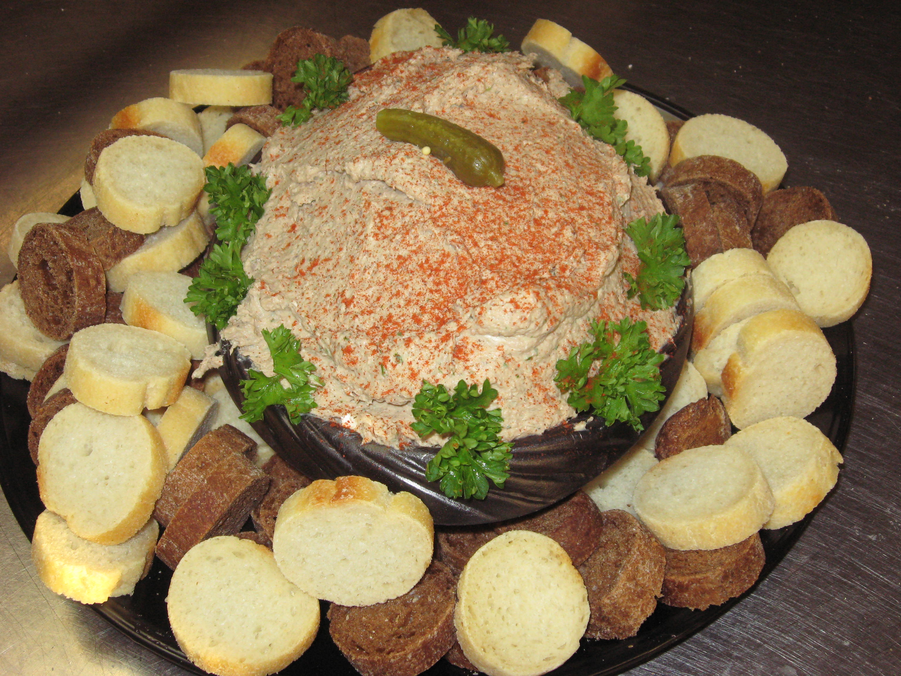 Pate Appetizer Tray