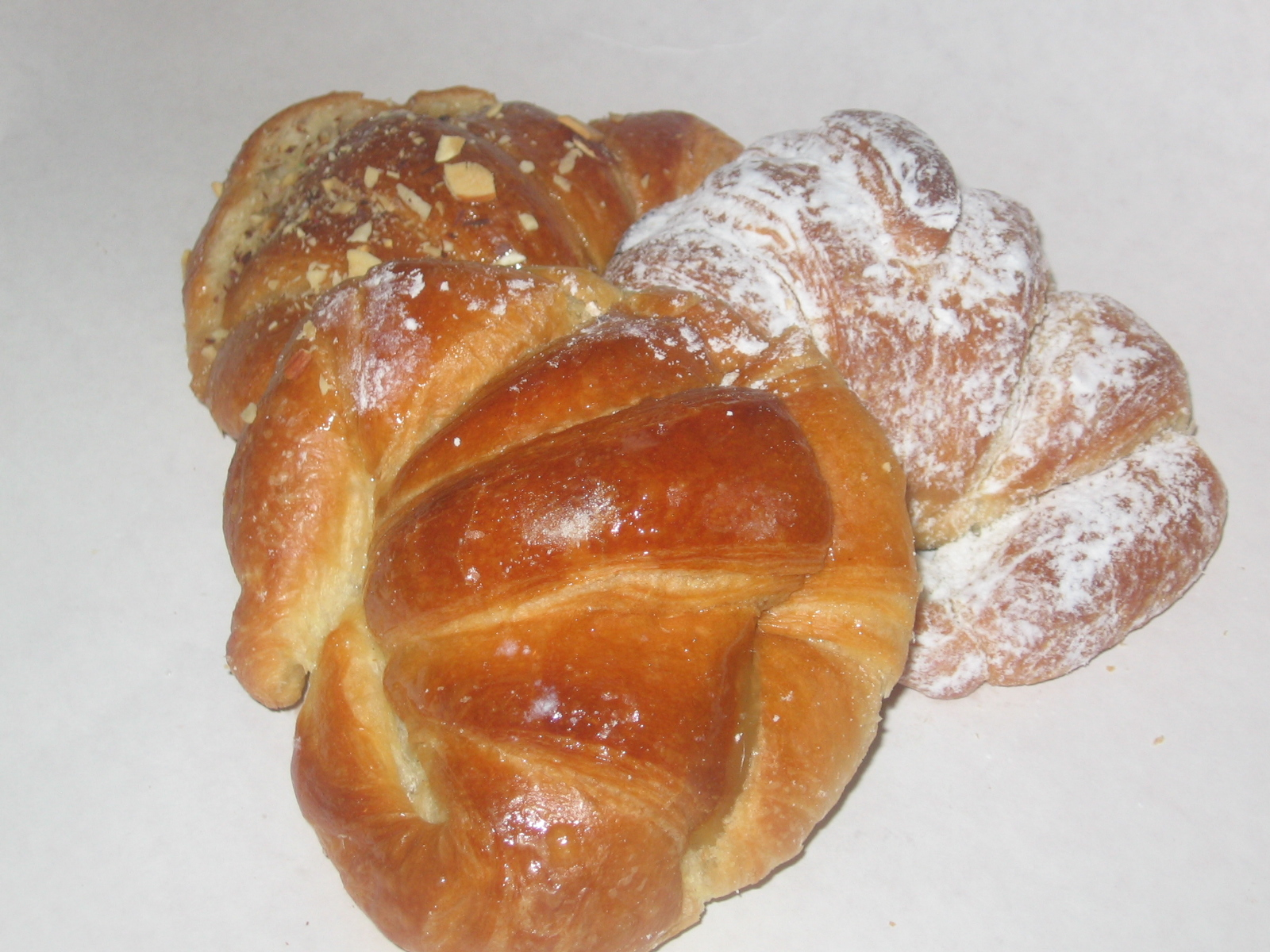 Croissants – Sweet-filled