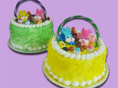 Easter Basket Cake 6″
