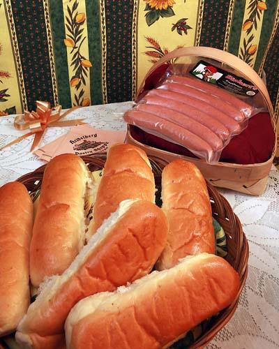 Hot Dog Rolls – 6 Rolls