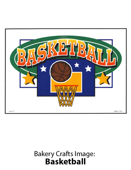 Bakery Crafts Image: Basketball