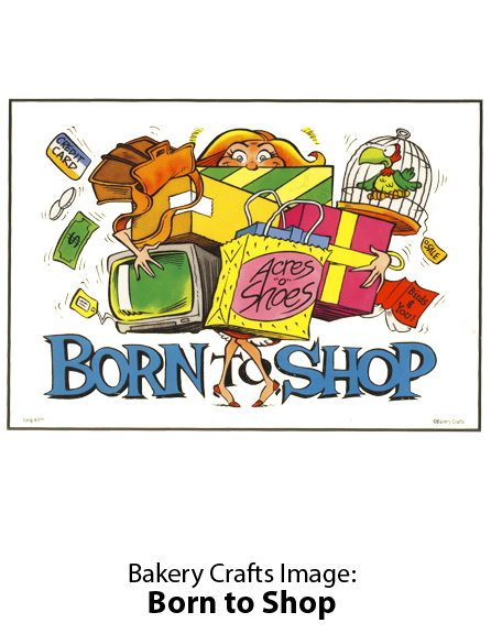 Bakery Crafts Image: Born to Shop