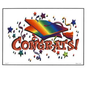 Bakery Crafts Image: Congrats! Graduation Cap