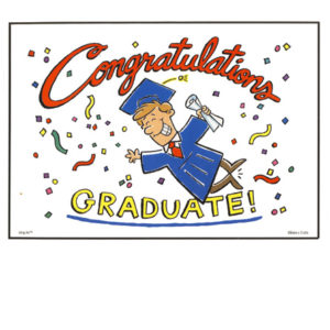 Bakery Crafts Image: Congratulations Graduate - Boy