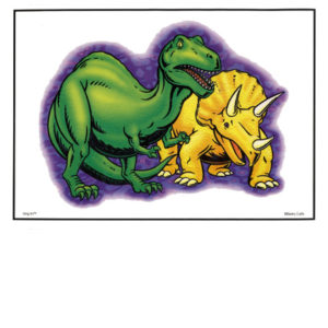 Bakery Crafts Image: Dinosaurs (T-Rex)