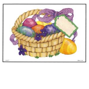 Bakery Crafts Image: Easter Egg Basket