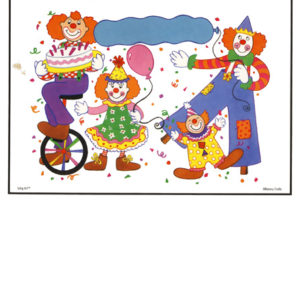 Bakery Crafts Image: Festive Clowns