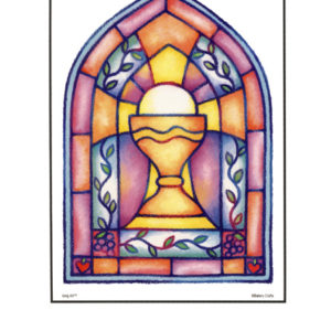 Bakery Crafts Image: Stained glass window chalice