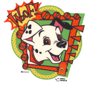 Edible Image ® by Lucks: 101 Dalmations Woof! (Disney)