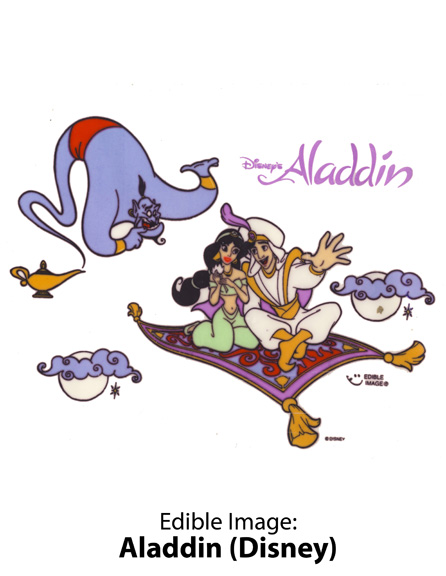 Edible Image ® by Lucks: Aladdin (Disney)