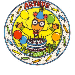 Edible Image ® by Lucks: Arthur Happy Birthday