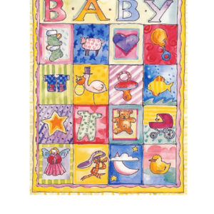 Edible Image ® by Lucks: Baby Patchwork Quilt