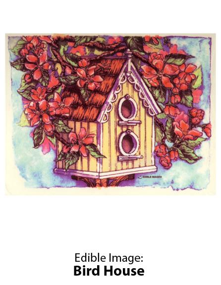 Edible Image ® by Lucks: Bird House
