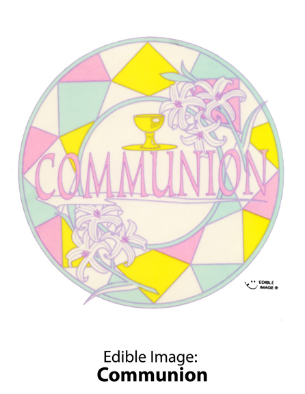 Edible Image ® by Lucks: Communion