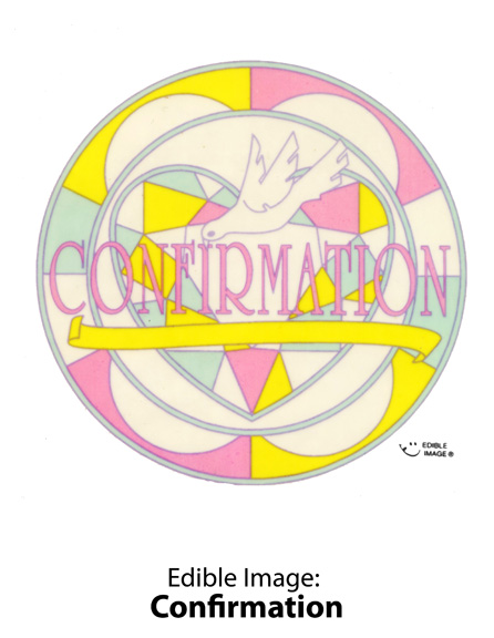Edible Image ® by Lucks: Confirmation