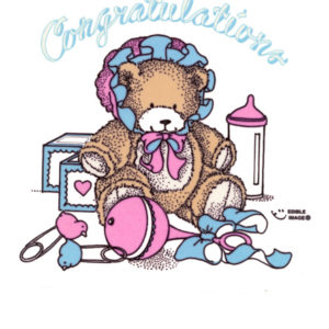 Edible Image ® by Lucks: Congratulations Bear