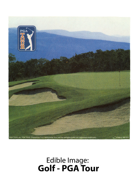 Edible Image ® by Lucks: Golf – PGA Tour