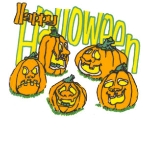 Edible Image ® by Lucks: Halloween Pumpkins
