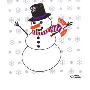 Edible Image ® by Lucks: Snowman