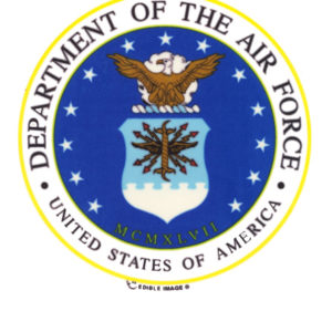 Edible Image ® by Lucks: U.S. Air Force Logo