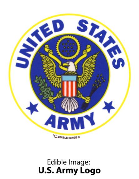 Edible Image ® by Lucks: U.S. Army Logo