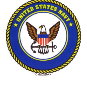 Edible Image ® by Lucks: U.S. Navy Logo