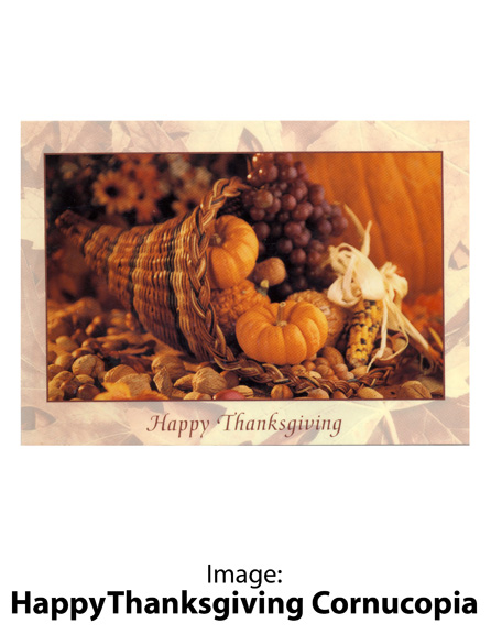 Image: Happy Thanksgiving Cornucopia