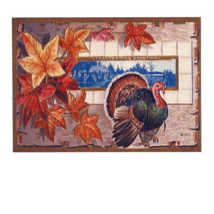 Image: Thanksgiving Greeting - Turkey