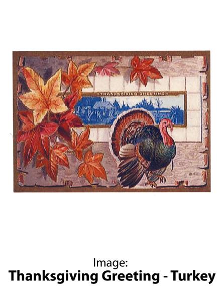 Image: Thanksgiving Greeting – Turkey
