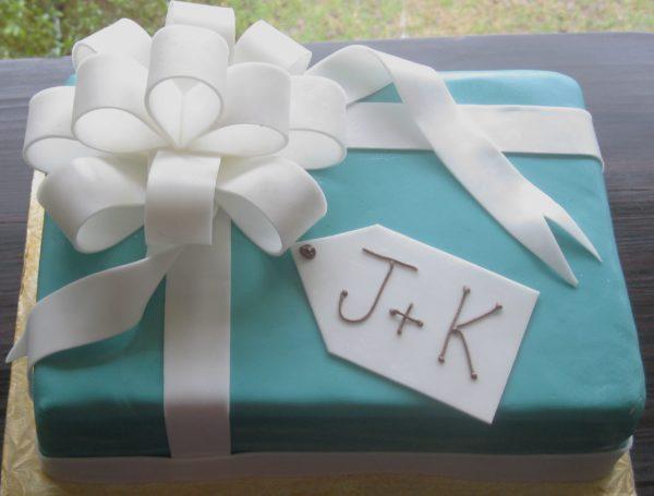 Bridal Gift Box Cake
