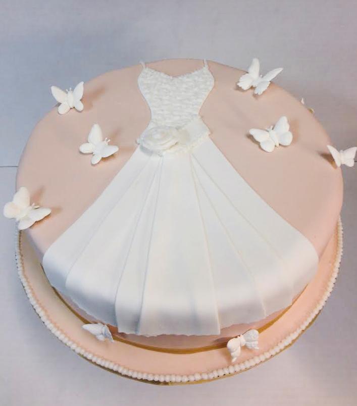 Bridal Dress Cake