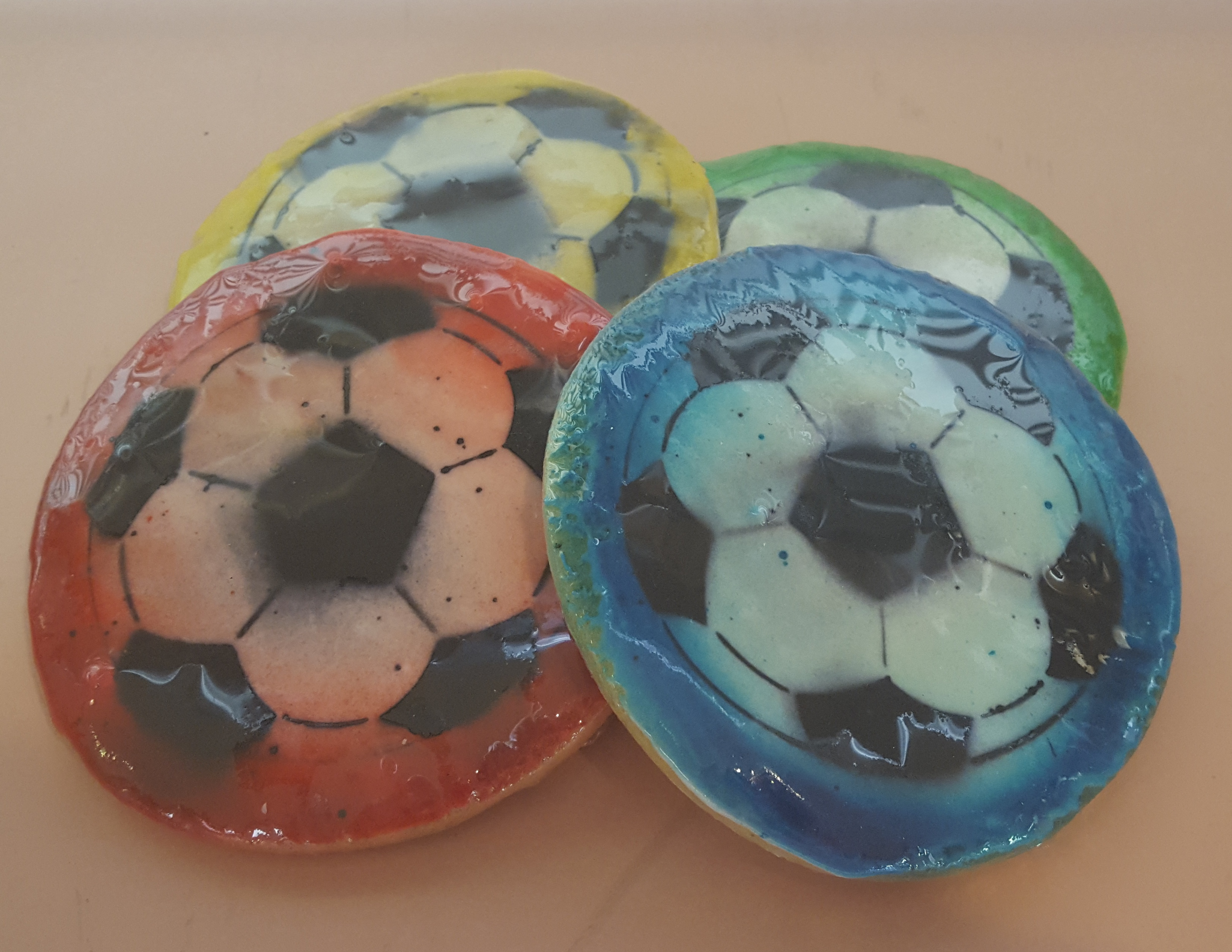Soccer Cookies – 6 Cookies