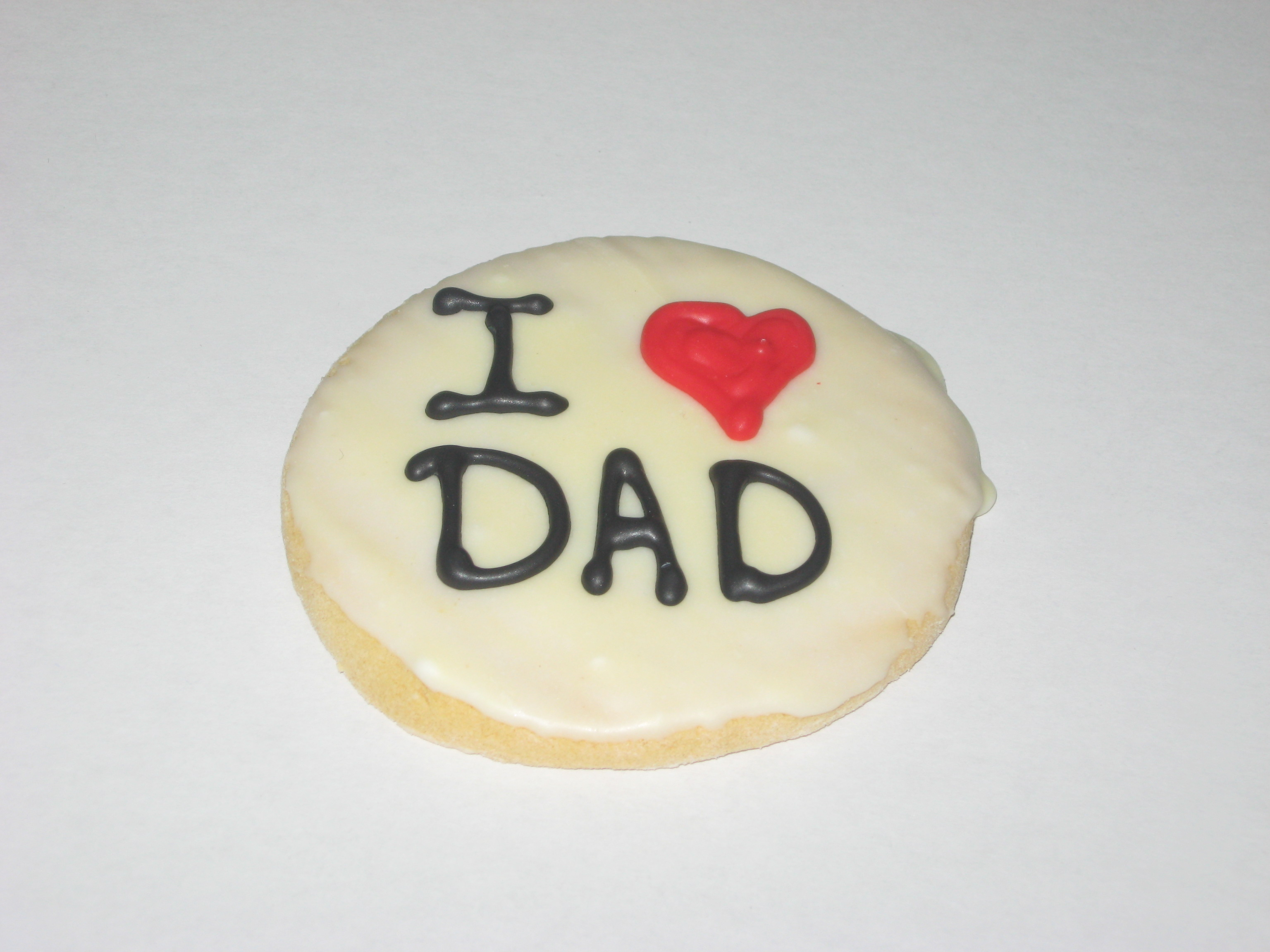 I Love Dad Cookie