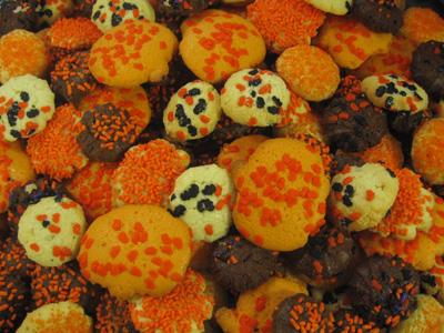Halloween Cookies, assorted