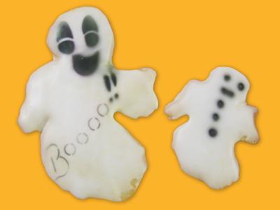Halloween Cookie – 6 Ghosts