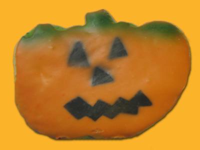 Halloween Cookie – 6 Pumpkins