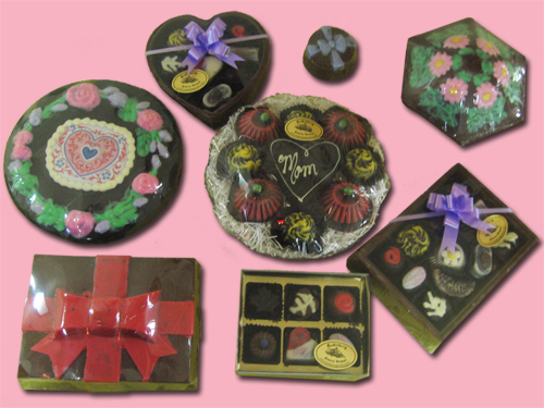 Chocolate Boxes, assorted