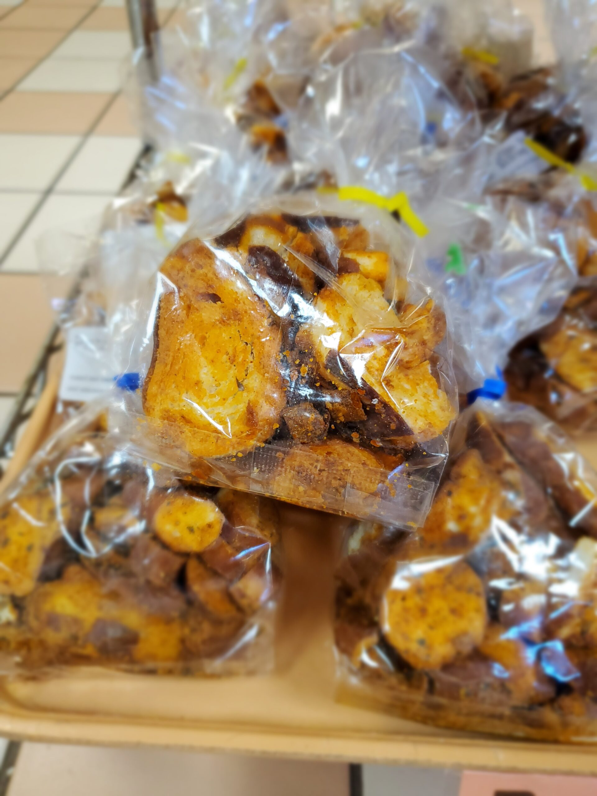 Pretzel Crouton Snacks